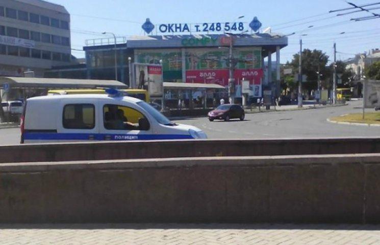 В Симферополе полиция гоняется за украинскими патриотами