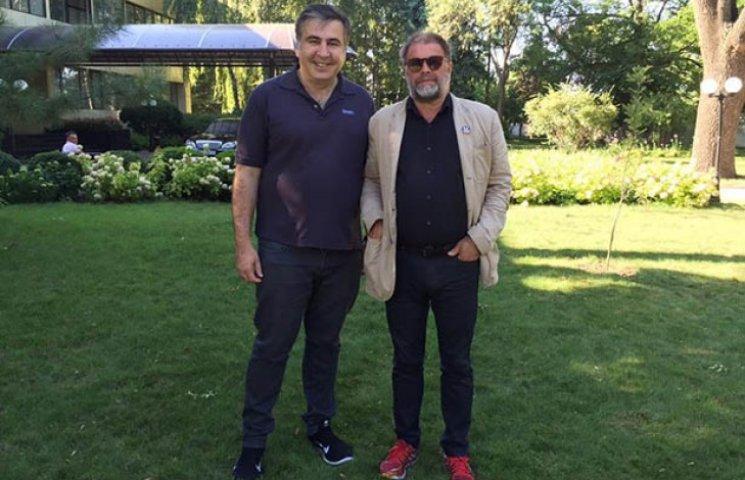 Саакашвілі зустрівся в Одесі з Борисом Гребенщиковим