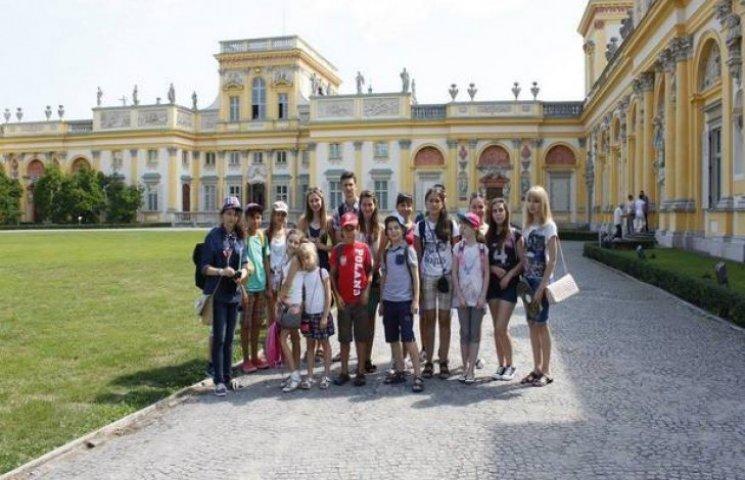 Діти з Хмельниччини та Вінничини побували у польському Сеймі