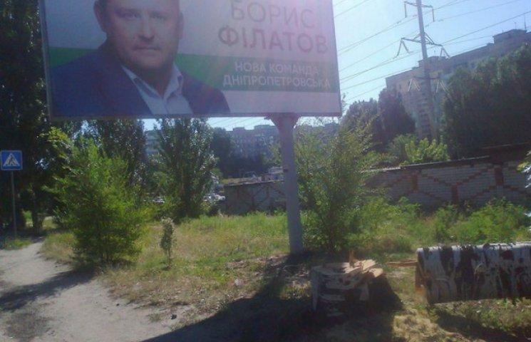 """У Дніпропетровську заради """"посмішки"""" Філатова зрубали тополю"""