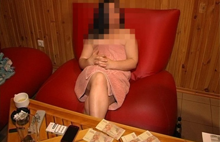 У запорізькій сауні клієнтам пропонували повій по 600 гривень