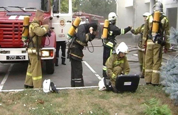 Загорілося приміщення з пультом управління світлофорами в міськДАІ