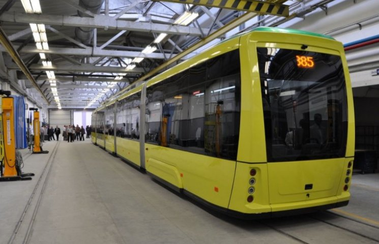 Львів купить п'ять трамваїв за гроші ЄБРР