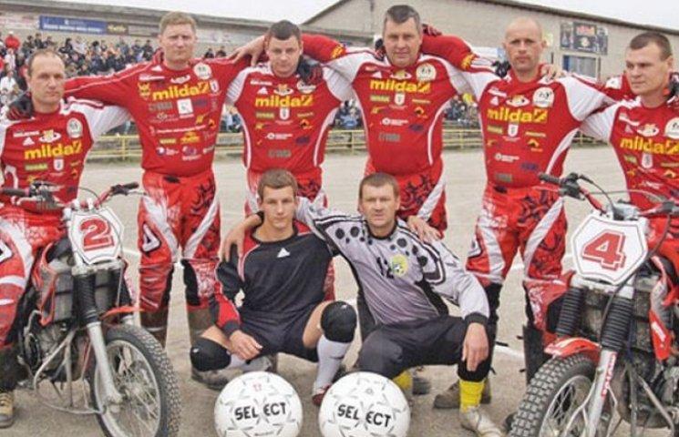 Полтавські мотоболісти зіграють з командою Литви