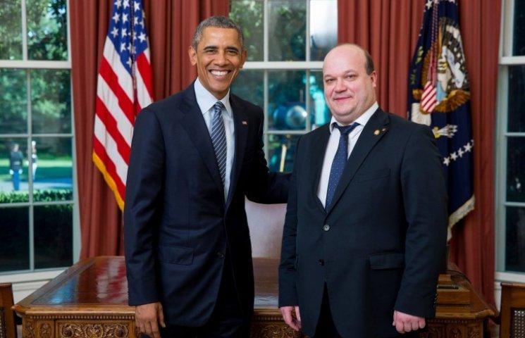 Чалий у США зустрівся з Обамою і відвідав Меморіал жертвам Голодомору (ФОТО)
