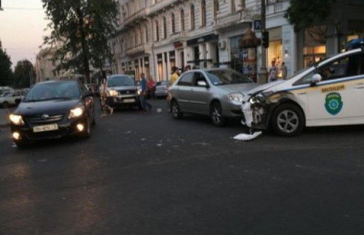 У вечірньому ДТП в Одесі виявилися винуваті даїшники