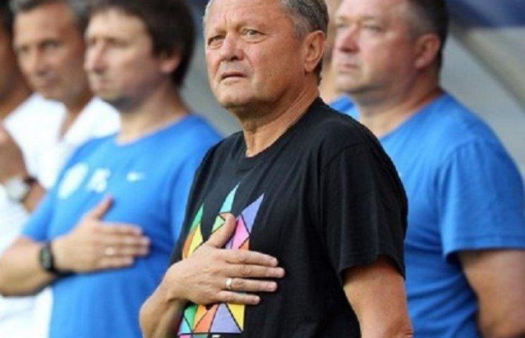 Маркевич подарував легендарну футболку з тризубом бійцю АТО