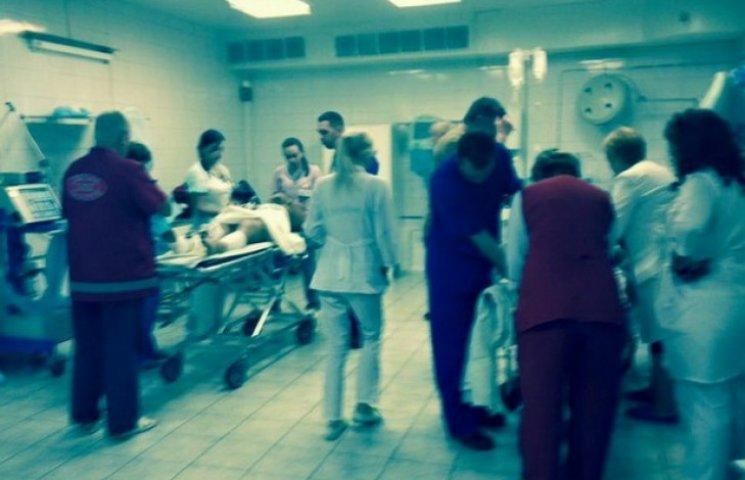 Лікарі дніпропетровської обласної лікарні готуються до напливу поранених