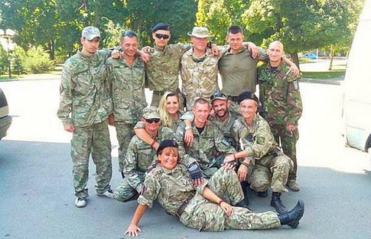 Полтавські добровольці поїхали на Схід