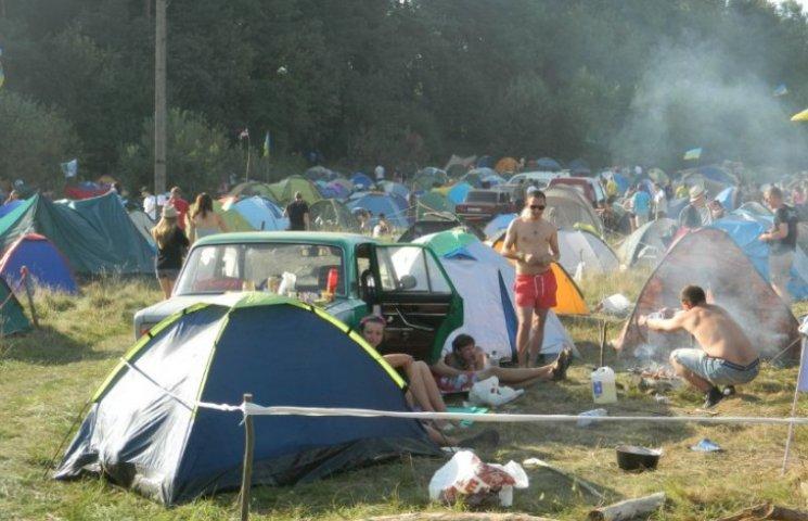 """Міліція почала розслідувати травмування відвідувачів фестивалю """"Бойко-fest"""""""