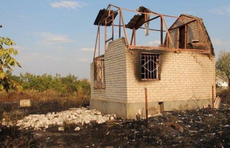 Пожежа на Одещині знищила дачні будинки