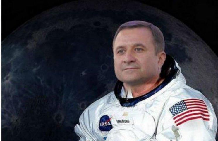 Як у Львові глузують з космічної кампанії Васюника