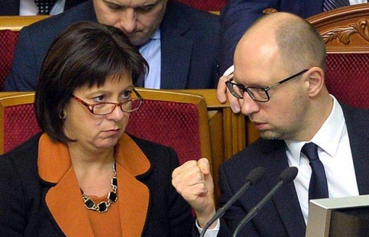 Яресько ледве не запорола передвиборчу кампанію Яценюка