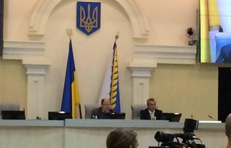 Голову дніпропетровської облради викрили у фіктивному голосуванні