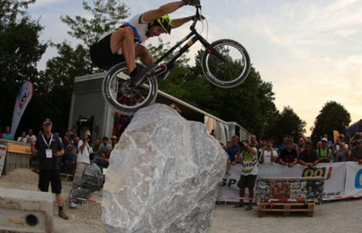 Полтавський спортсмен виступив на етапі Кубка світу з велотриалу
