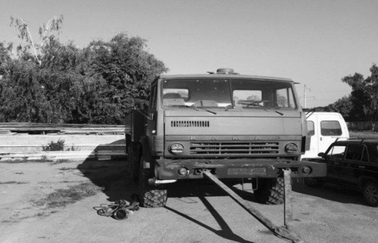 Вінницький бізнесмен відремонтував для АТО паливозаправник