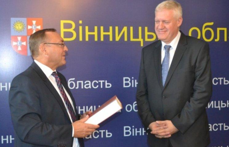 Польський посол познайомив вінничан з новим консулом