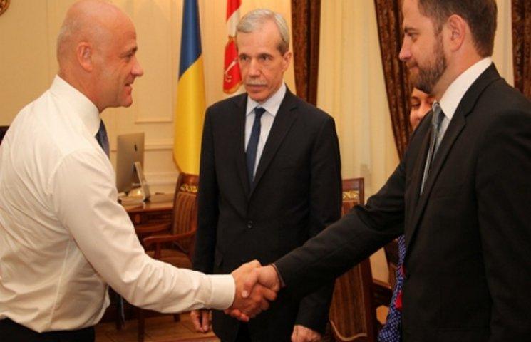 Мер Одеси зустрівся з головою Мінекогології України