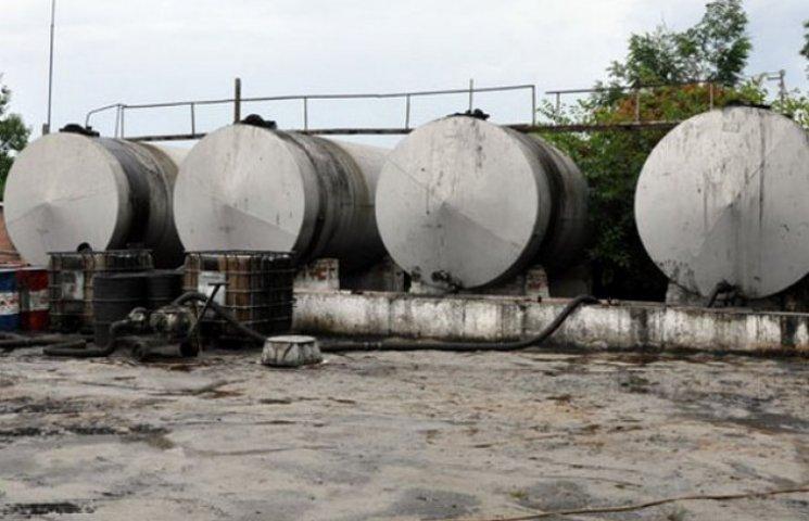На Полтавщині знайдено незадокументовані резервуари з нафтою