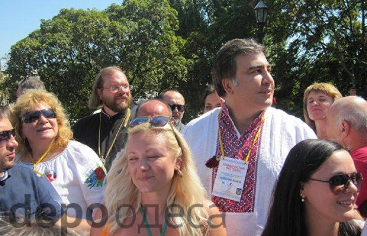 Одещина на чолі з Саакашвілі вкотре довела, що Одеса завжди була українським містом