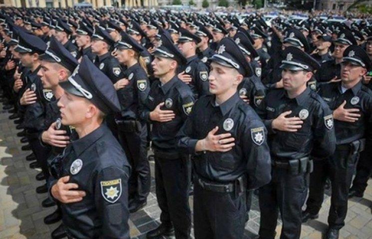 Нова поліція Одеси сьогодні присягне на вірність українському народові