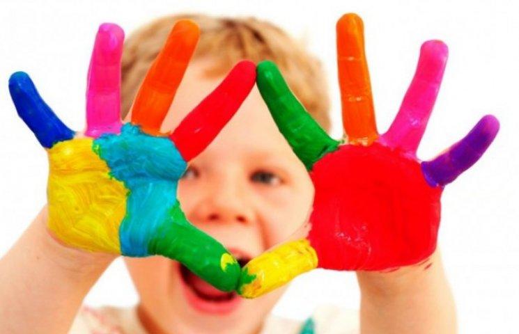 Діти учасників АТО намалювали любов до України