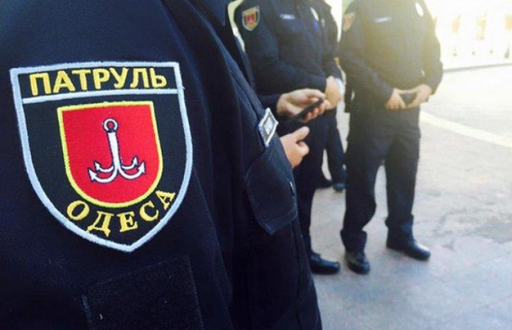 Одеська патрульна поліція відзвітувала про першу добу патрулювання