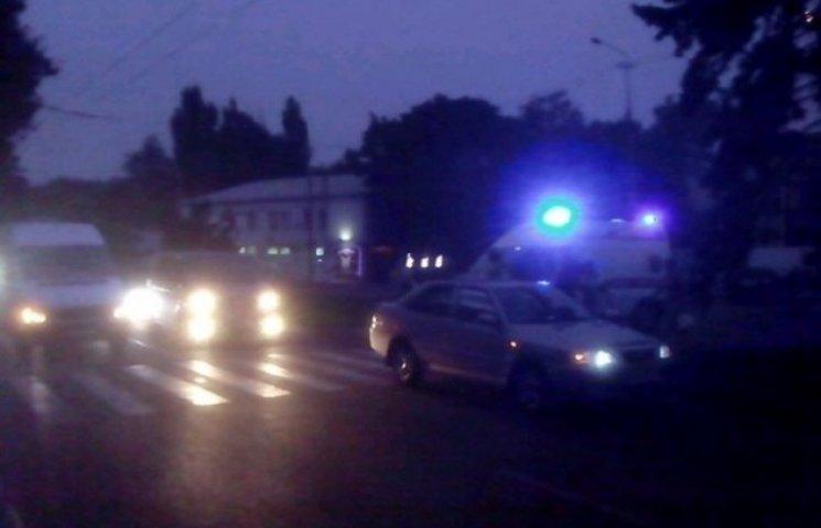 У Дніпропетровську на пішохідному переході збили 11-річного хлопця