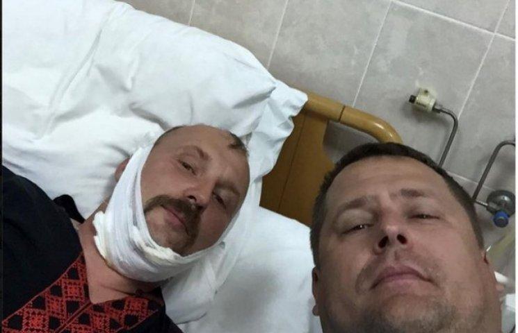 З пораненого керівника дніпропетровської лікарні дістали не всі осколки