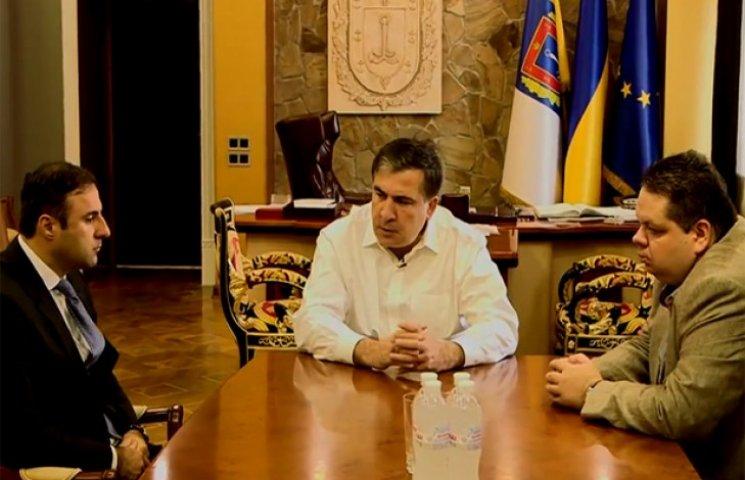Саакашвілі прокоментував арешт начальника міліції Одеси