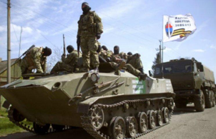 """Структура гібридної армії """"Новоросії""""…"""