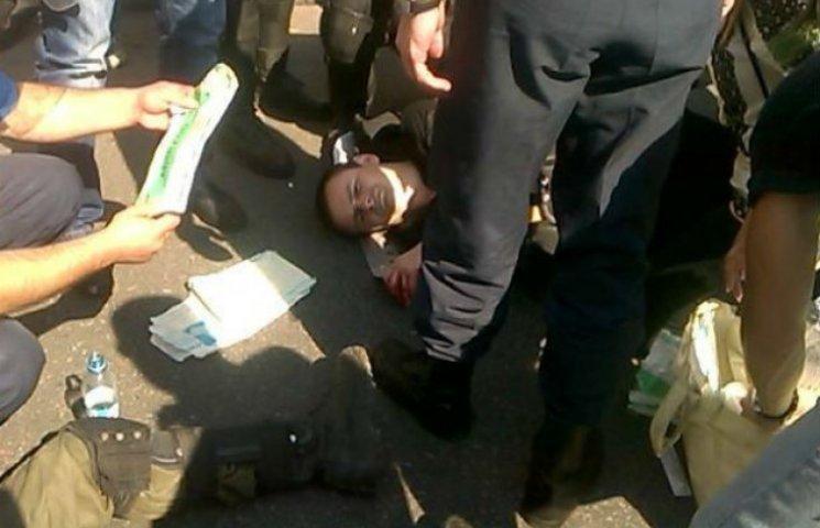В милиционеров под Радой бросили боевую гранату (ФОТО, ВИДЕО) (ОБНОВЛЯЕТСЯ)