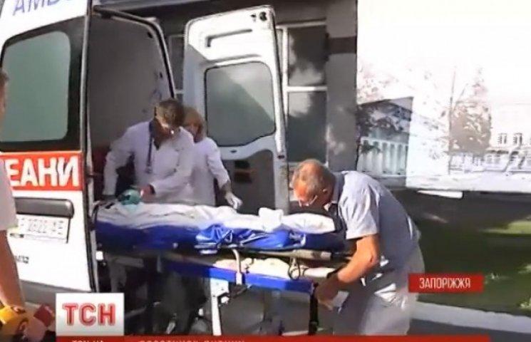 Дитина, яка постраждала від вибуху міни на Донеччині, досі у критичному стані