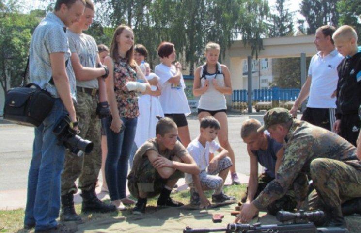 У Шепетівці відбувся молодіжний вишкіл