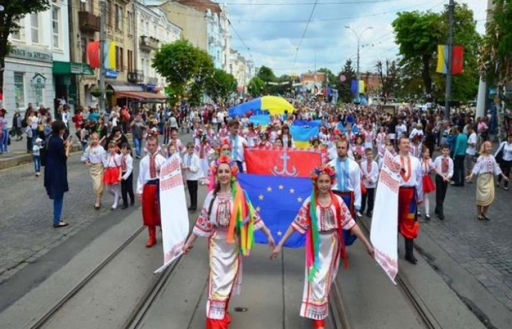 На День міста вінничани ходитимуть пішки
