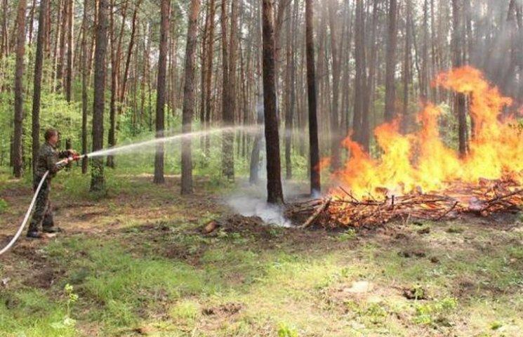 Вінничан попереджають про надзвичайну пожежну небезпеку