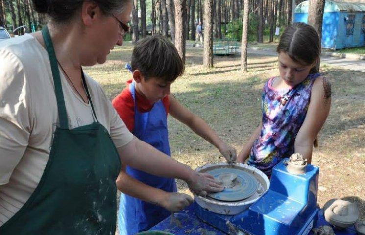 На Полтавщині завершив роботу унікальний табір для АТОвців та їхніх родин