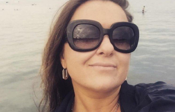 Схудла Могилевська показала фігуру в купальнику в Одесі