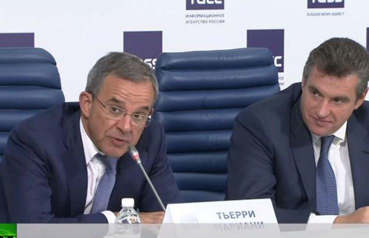 Український журналіст довів до істерики французького депутата-кримнашиста