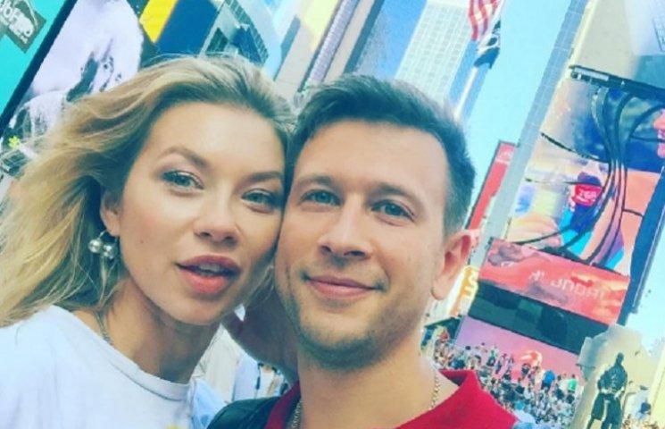Ступка и Логунова показали свой медовый месяц в США