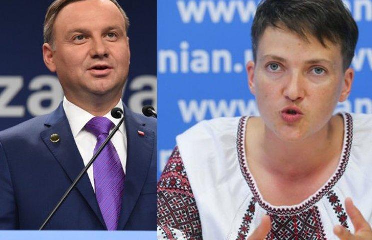 Тимошенко зробить з Савченко українського Дуду?