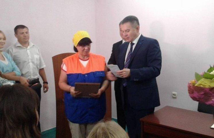 Вінницька двірничка-детектив отримала премію від міськради