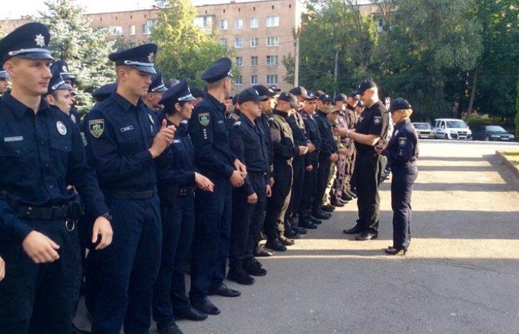 Поліція Хмельницького вперше відзначає професійне свято