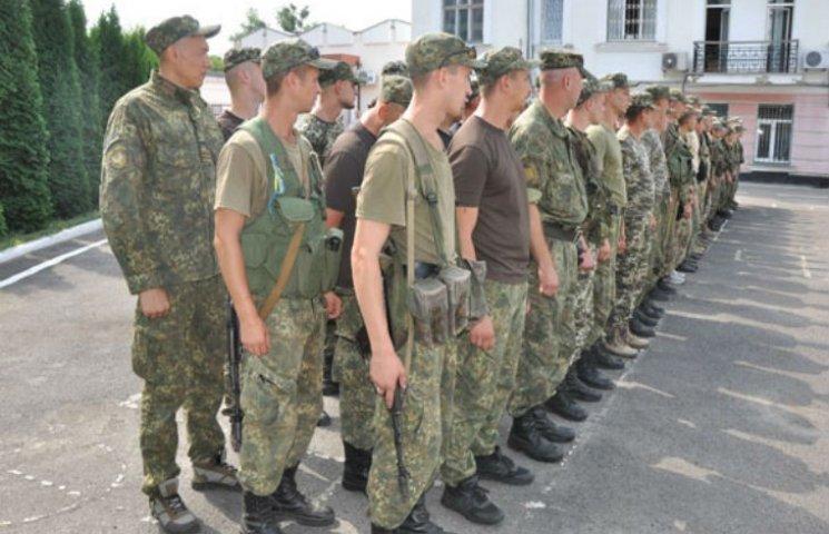 """Бійці батальйону спецпризначення """"Полтава"""" відправилися на фронт"""