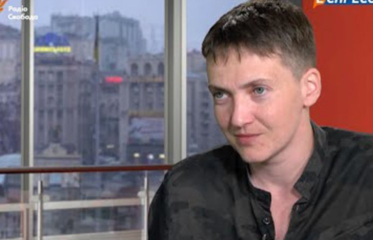 """Сьогодні в студію телеканалу """"Еспресо"""" завітає Надія Савченко"""