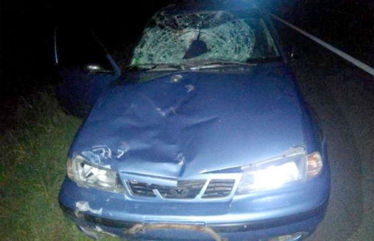 ДТП під Полтавою: велосипедист пробив лобове скло машини і загинув на місці