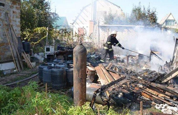На Миколаївщині ледь не взлетіла в повітря дача