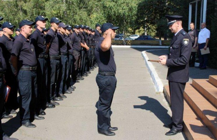 Миколаївських копів відзначив начальник Департаменту патрульної поліції