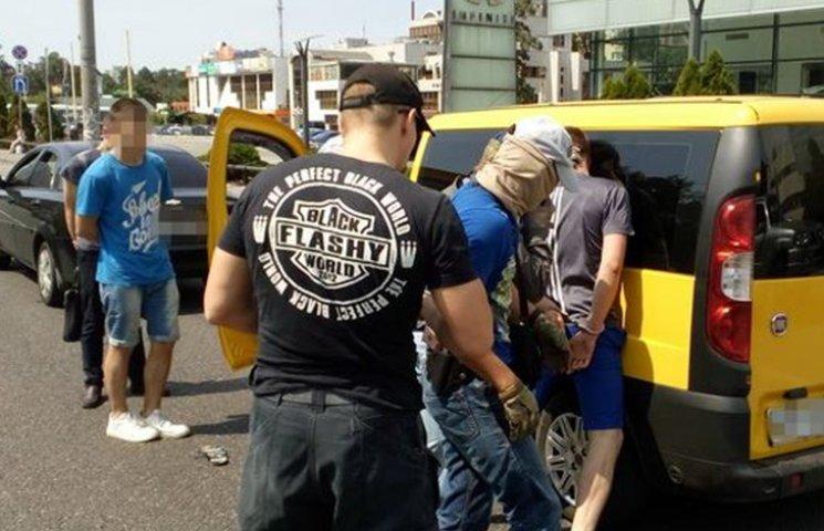 В Киеве задержали нацгвардейца, что торговал наркотиками
