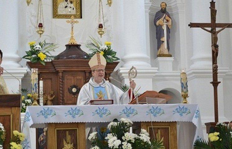 До вінничан приїхав посланець Папи Римського